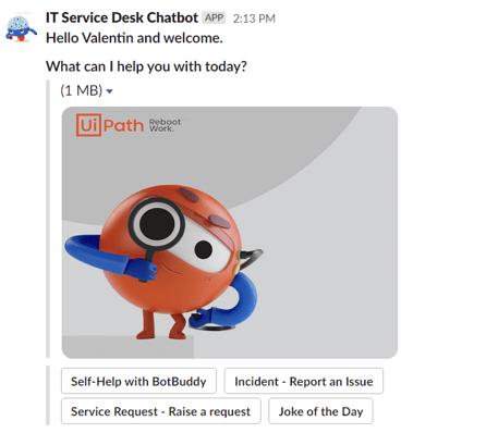 IT Service Desk Chatbot
