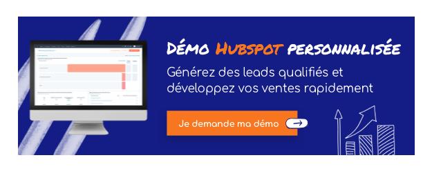 Démo HubSpot personnalisée