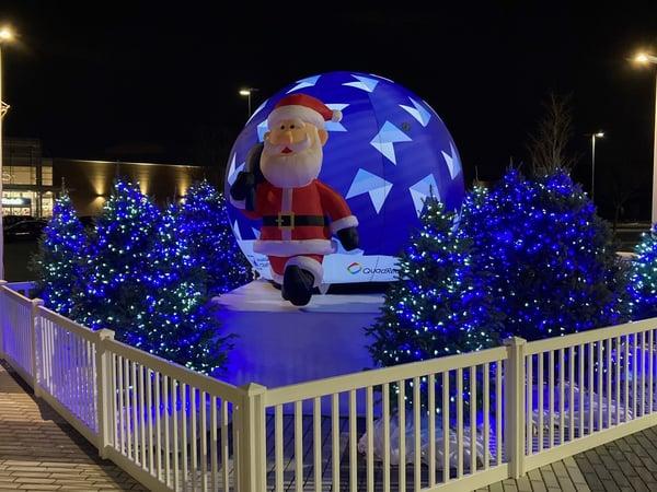 Inflatable Santa Montreal