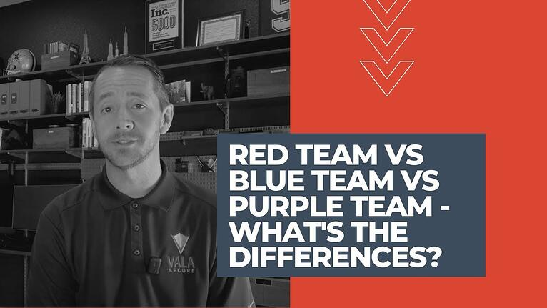 Red Team vs. Blue Team vs. Purple Team