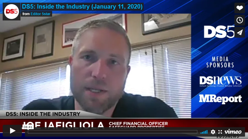 Safeguard's CFO Featured on DS5's Inside the Industry