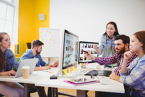 ATSI Houston Tips for IT Office Setup Process Office Setup Happy Colleagues