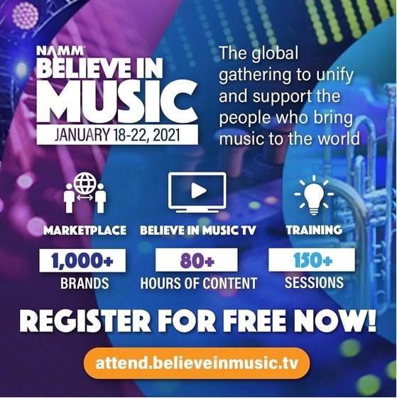 NAMM 2021: Believe in Music