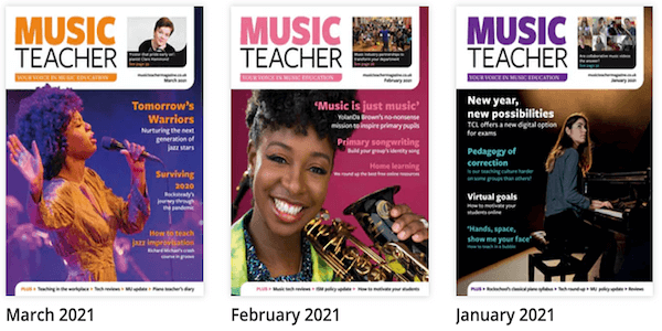 Music Teacher magazine reviews the pBugle