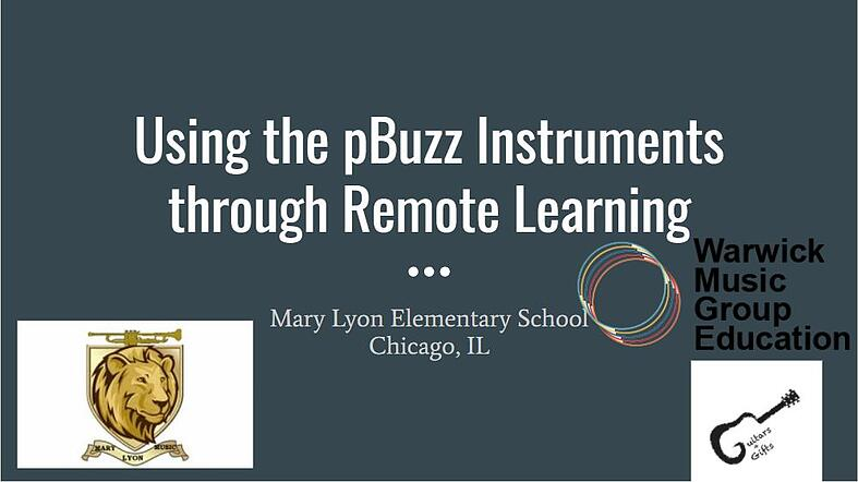 Chicago Public Schools Teacher Sarah Todd talks about using pBuzz for remote learning
