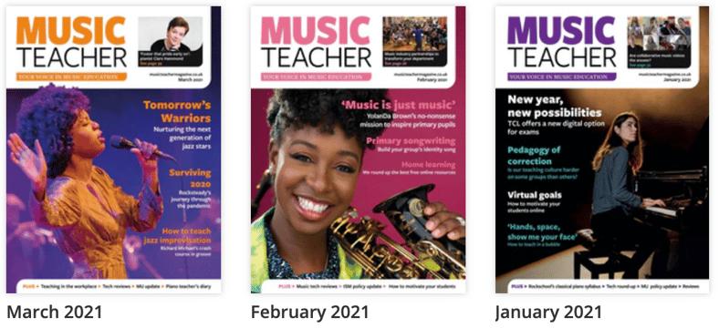 Music Teacher magazine reviews the pBugle