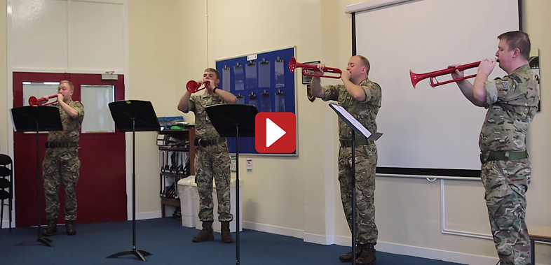 HM Royal Marines pBugle Fanfare