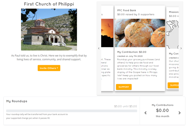 sixpence church community example