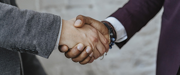Negotiating, Hand Shake