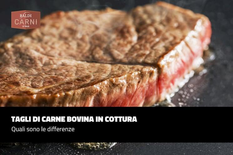 Tagli di carne bovina in cottura