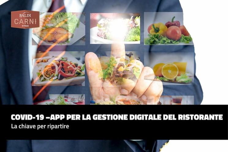 App per la gestione digitale del ristorante