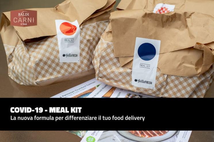 Meal kit: la nuova formula per differenziare il tuo food delivery