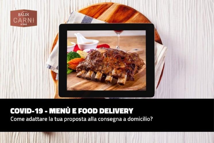 Adattare il tuo menù alla consegna a domicilio