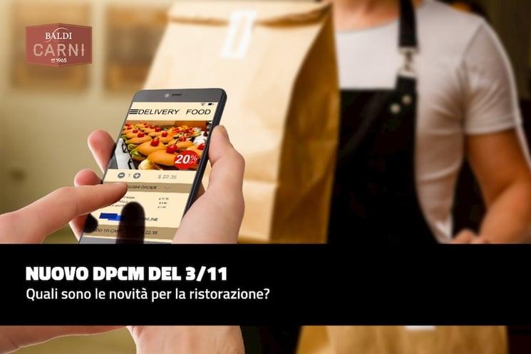 Nuovo DPCM del 3/11: quali novità per la ristorazione?
