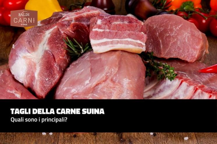 Tagli della carne suina: quali sono i principali?