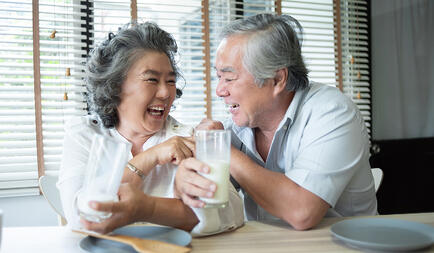 Benefits of Healthy Eating When Growing Older