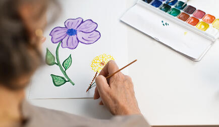 creativity and assisted living