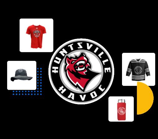 Huntsville Havoc Live Sales sports merchandise