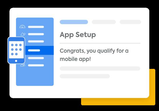 app setup tab