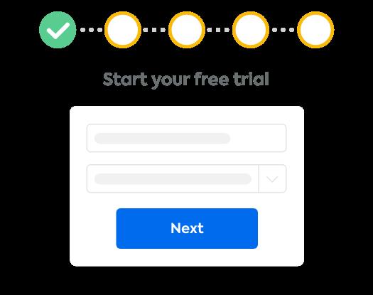 start trial form