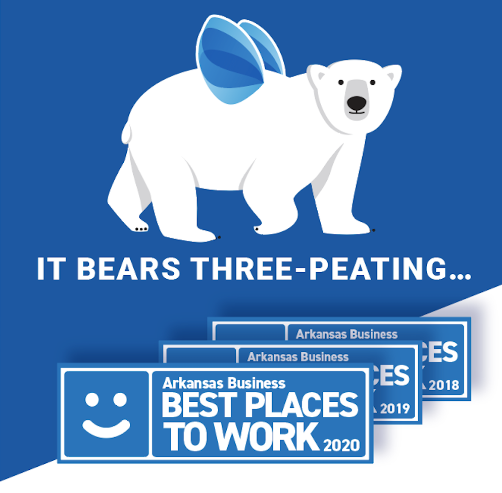 It Bears Three-peating! 2020's Best Places to Work in Arkansas