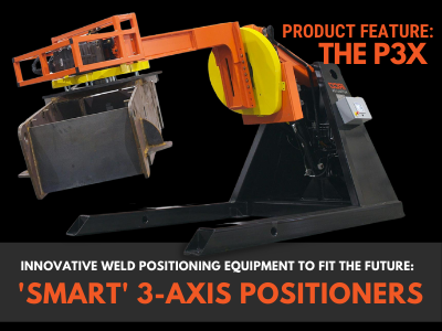 Product Feature: 'Smart' P3X - Three Axis Positioners