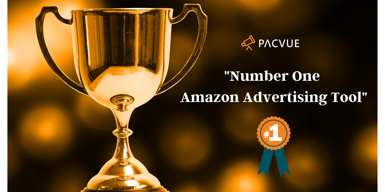 Pacvue Ranked as #1 Amazon Advertising Tool