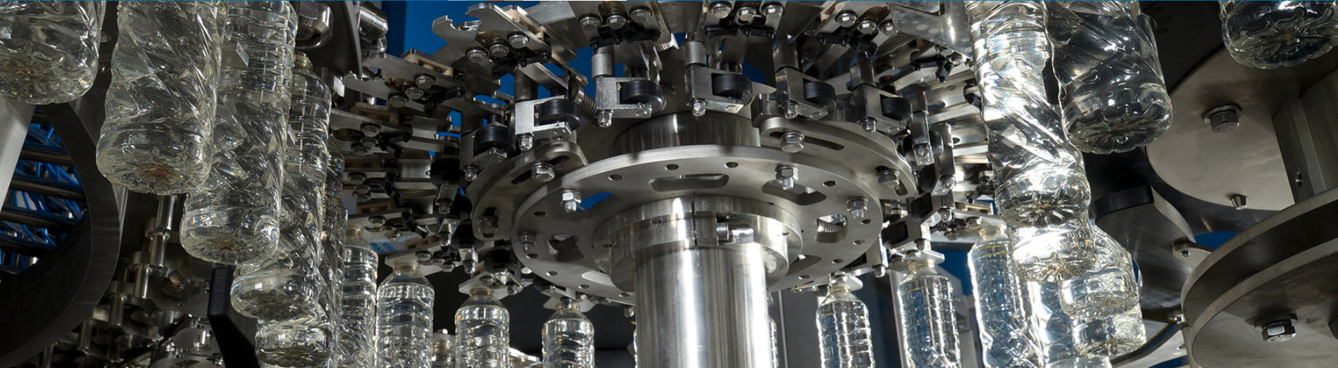 systems integrating the production of preforms with bottling lines