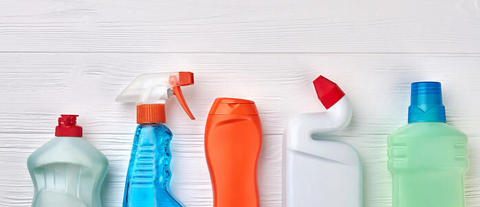 Peculiarities and challenges of PET detergent containers