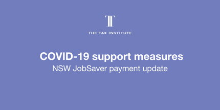 New JobSaver and Micro-business Grant retesting requirement