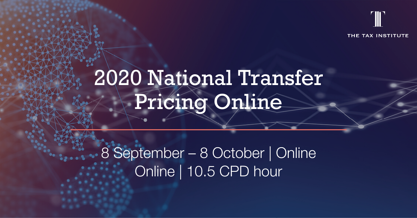 National Transfer Pricing Online event
