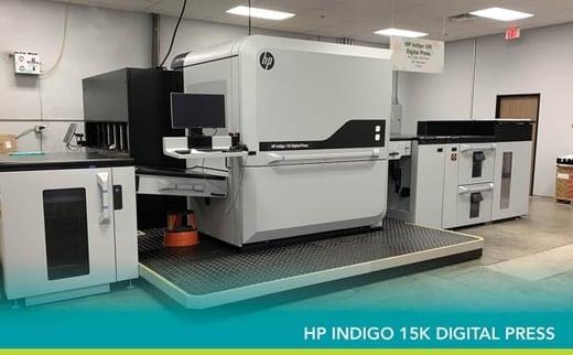 The First 15K Digital Press Installed in SoCal   HP Indigo 15K