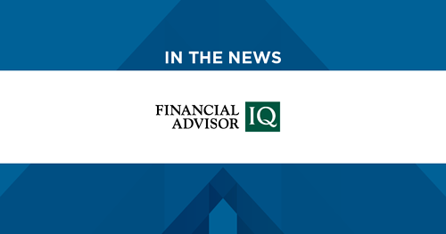 In the News: Financial Advisor IQ