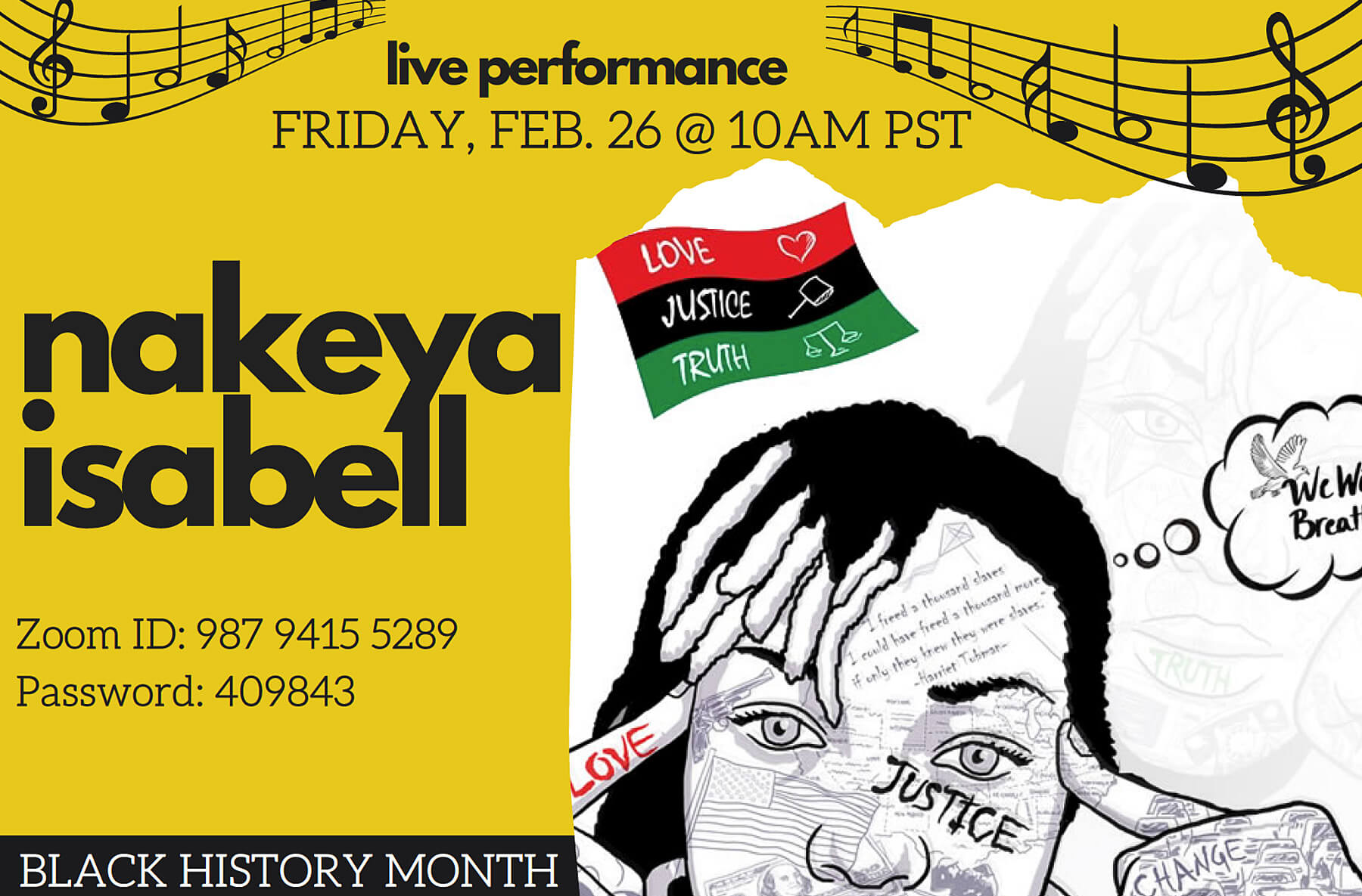 Nakeya Isabell Performance