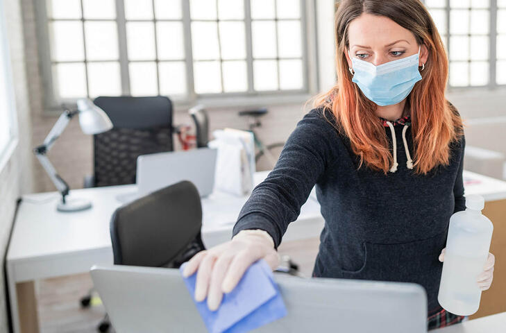 Tips for Proper Disinfection of Pathogens like COVID-19
