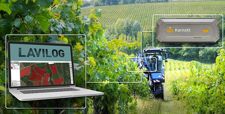 #viticulteurs : Karnott et Lavilog s'interconnectent...