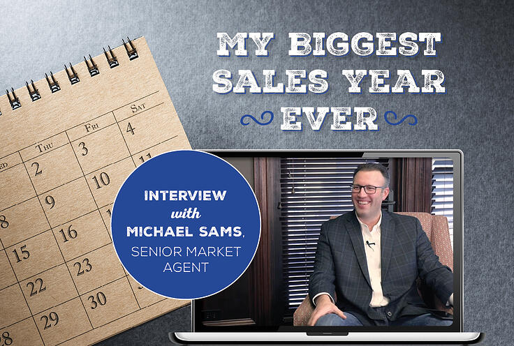 My Biggest Sales Year Ever – Interview with Michael Sams, Senior Market Agent