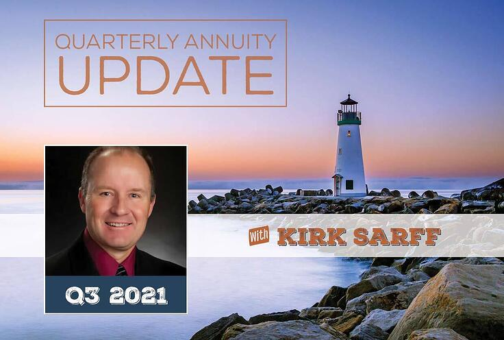 Quarterly Annuity Update with Kirk Sarff | Q3 2021