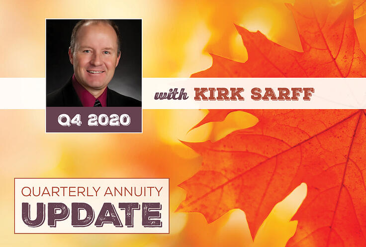 Quarterly Annuity Update with Kirk Sarff | Q4 2020
