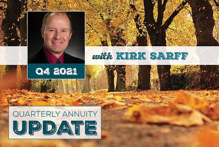 Quarterly Annuity Update with Kirk Sarff | Q4 2021