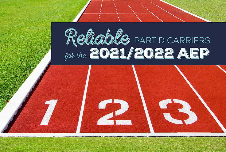 Reliable Part D Carriers for the 2021/2022 AEP