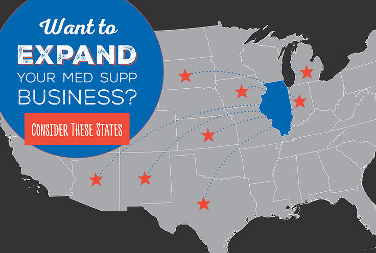 Want to Expand Your Med Supp Business? Consider These States