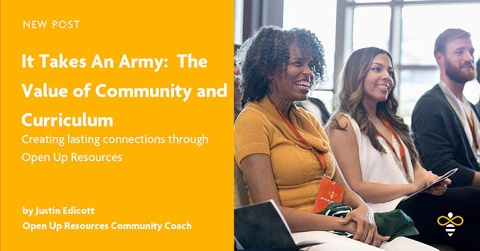 It Takes An Army - The Value of Community and Curriculum Justin Endicott