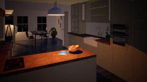 Marraum Architects_St Just_Renovation and Extension_KitchenLounge 01