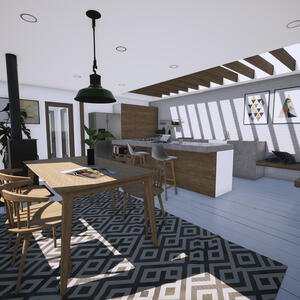 Marraum Architects_Crantock_Full House Renovation_Kitchen Extension 04