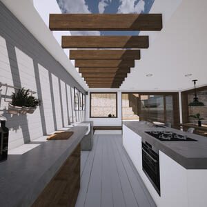 Marraum Architects_Crantock_Full House Renovation_Kitchen Extension 05