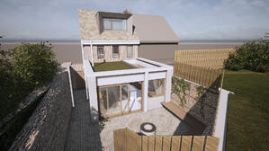 Marraum Architects_Crantock_Renovation and Extention_ Rear Exterior