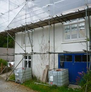 Marraum Architects_Flushing_Full House Renovation_Construction Photo 02