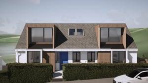 Marraum Architects_Flushing_Full House Renovation_Exterior Render 01