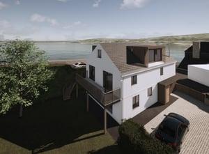 Marraum Architects_Flushing_Full House Renovation_Exterior Render 03